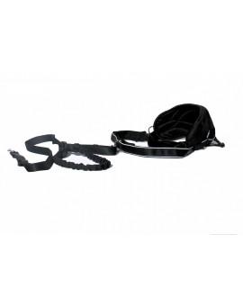 Kit canicross: ceinture pro et laisse anti choc
